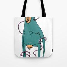 Vector monster Tote Bag