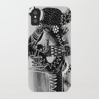 cow iPhone & iPod Cases featuring COW by Benson Koo
