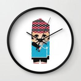 Nepali gurkha Wall Clock