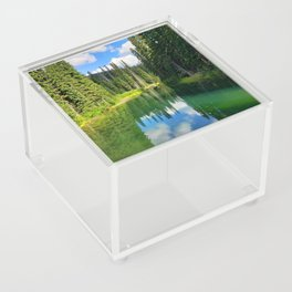 Pacific North West Alpine Lake Acrylic Box