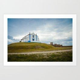 Arraiolos - Igreja do Salvador Art Print