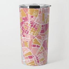 Cracow map Travel Mug