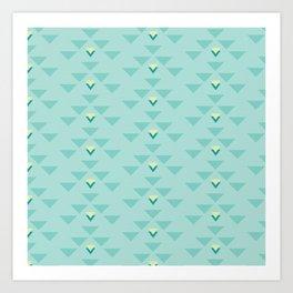 Triangle force Art Print