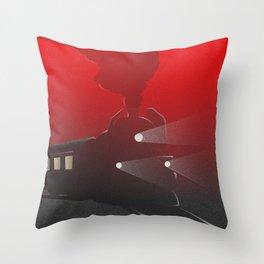 Orient Express Throw Pillow