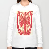 nicolas cage Long Sleeve T-shirts featuring Rib Cage  by troymac1892