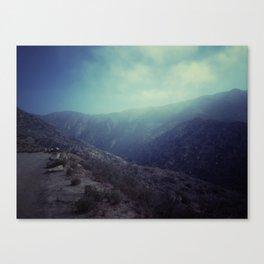 Santa Monica Mountains Canvas Print