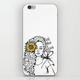 #STUKGIRL QUEEN iPhone Skin