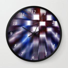 Windows Blue Wall Clock