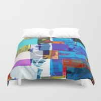 africa Duvet Covers featuring Africa by Fernando Vieira