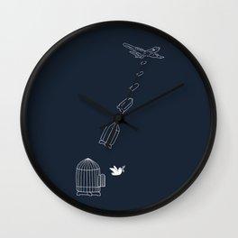 Peace Bomber Wall Clock
