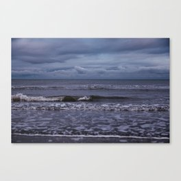 Winter at Bettystown Beach Canvas Print