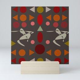 zappwaits dance Mini Art Print