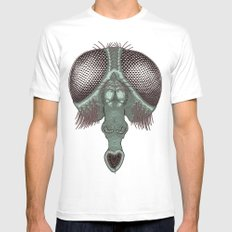 Lord of the Flies MEDIUM Mens Fitted Tee White