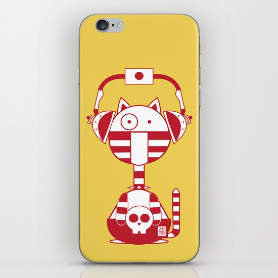 Scat 2 iPhone & iPod Skin