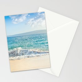 Oneloa Big Beach Makena Maui Hawaii Stationery Cards