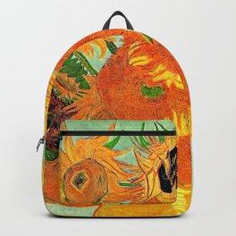 Sunflowers van Gogh Backpack