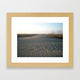 SANDSCAPE Framed Art Print