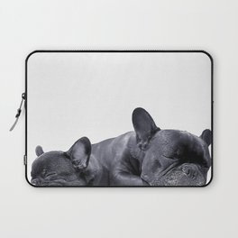 sleeping frenchies Laptop Sleeve