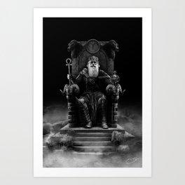 IV. The Emperor (Version III) Art Print