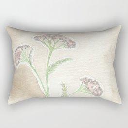 Pink Yarrow Rectangular Pillow
