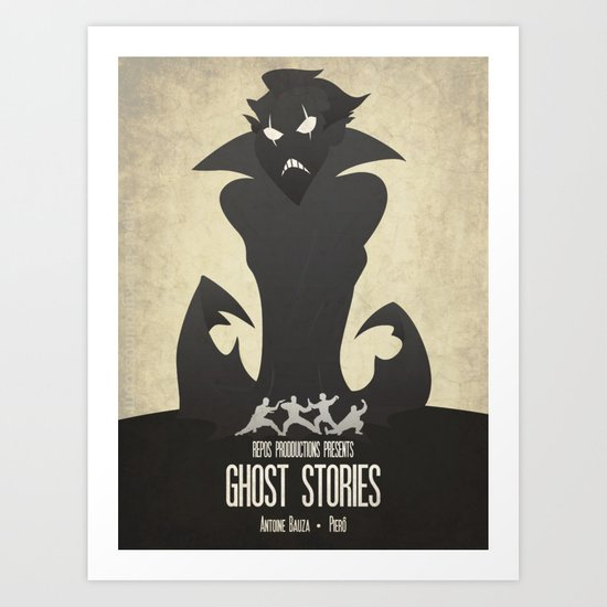 Ghost Stories - Minimalist Board Games 11 by ironsyndicate