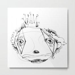 clowns in crowns #15 Metal Print