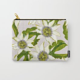 Passion Flower. Carry-All Pouch
