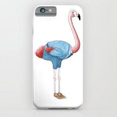 Flamingo in suit Slim Case iPhone 6s