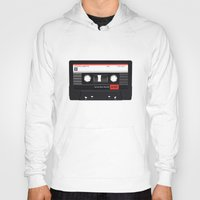 tape Hoodies featuring Old School Tape by Ewan Arnolda