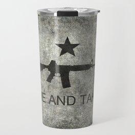 Come and Take it Flag with AR-15 Travel Mug