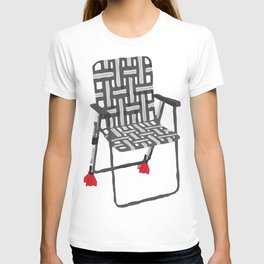 rocket launcher (rocket lawnchair). T-shirt