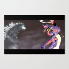 A King and A God Canvas Print