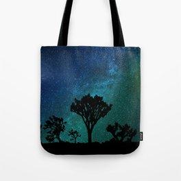 Milky Way Joshua Tree Tote Bag