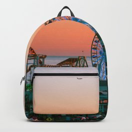 Sunset on the Pier Backpack