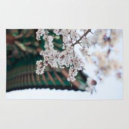 Blossoms Near the Bell, Seoul Korea Rug