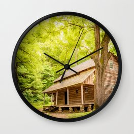 Weekend Getwaway Wall Clock
