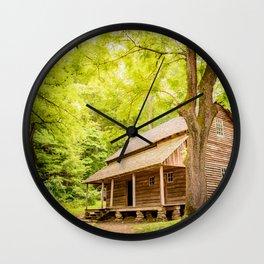 Weekend Getwaway Wall Clock