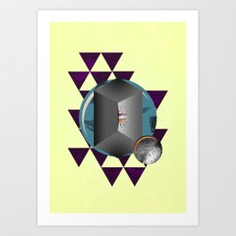 The Fold Art Print