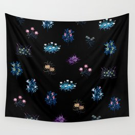 Fantasy flowers Wall Tapestry