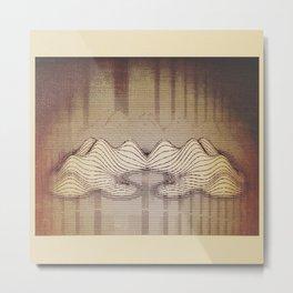 Hills and Valleys Metal Print