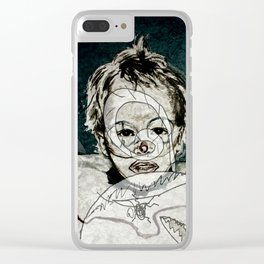 FRIENDLY MONSTERS Clear iPhone Case