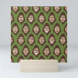 Bigfoot Sasquatch Class Photos Mini Art Print
