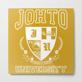 Johto University Metal Print