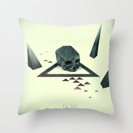 Dead Throw Pillow