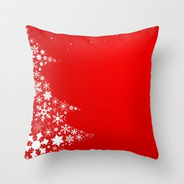 Red Christmas Throw Pillow