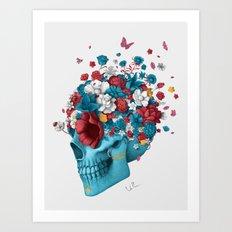 Skull Life Art Print
