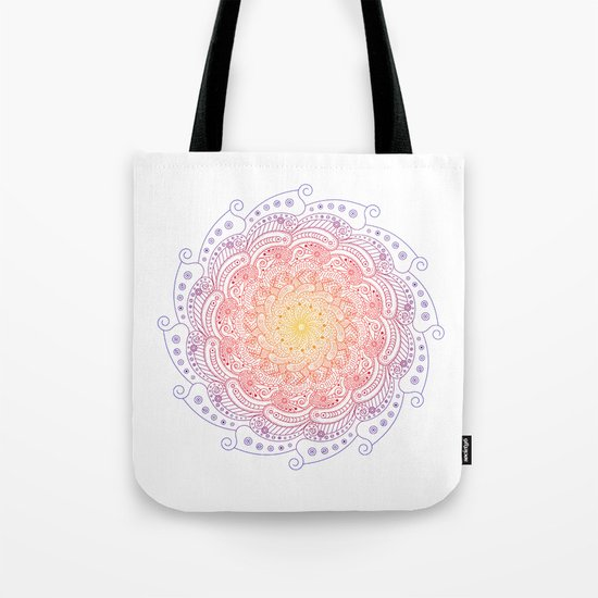 Round ornament - color Tote Bag