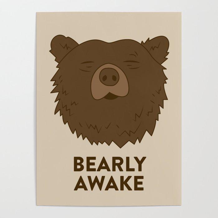 BEARLY AWAKE Poster