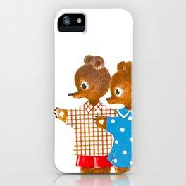 siblings iPhone Case