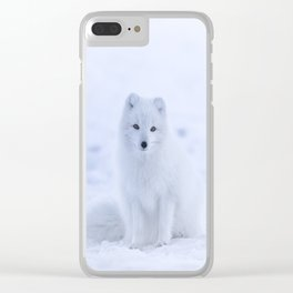 Arctic Fox 2 Clear iPhone Case